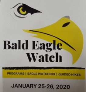 Bald Eagle Watch Logo and Dates